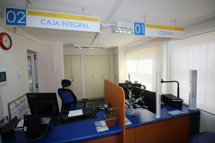 Oficina del registro civil en la higuera mejora su calidad for Oficina registro civil