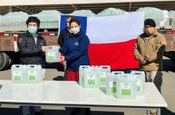 CCU dona 11 mil litros de alcohol extraídos de la producción de pisco